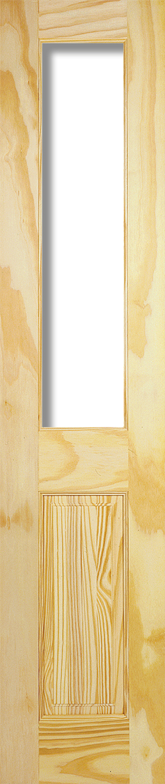 Clear pine richmond unglazed internal door