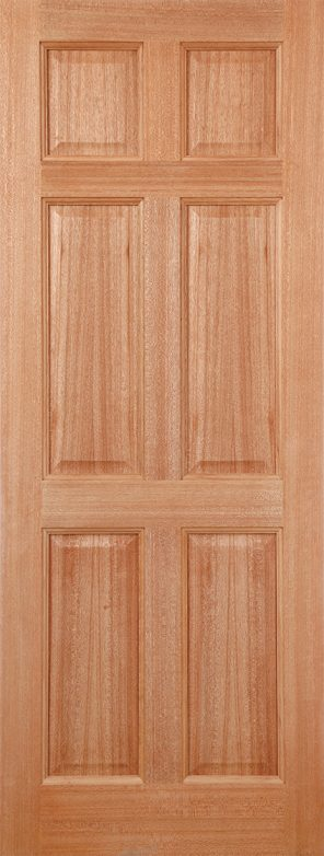 Hardwood colonial 6p dowel external door