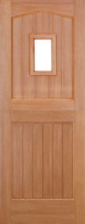 Hardwood 1l unglazed dowel external stable door