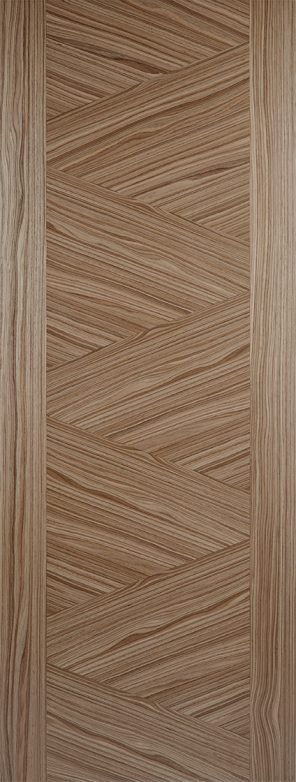 Prefinished walnut zeus internal door