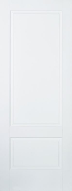 White primed brooklyn 2 panel internal door