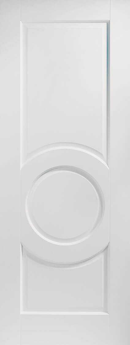 White primed montpellier internal door
