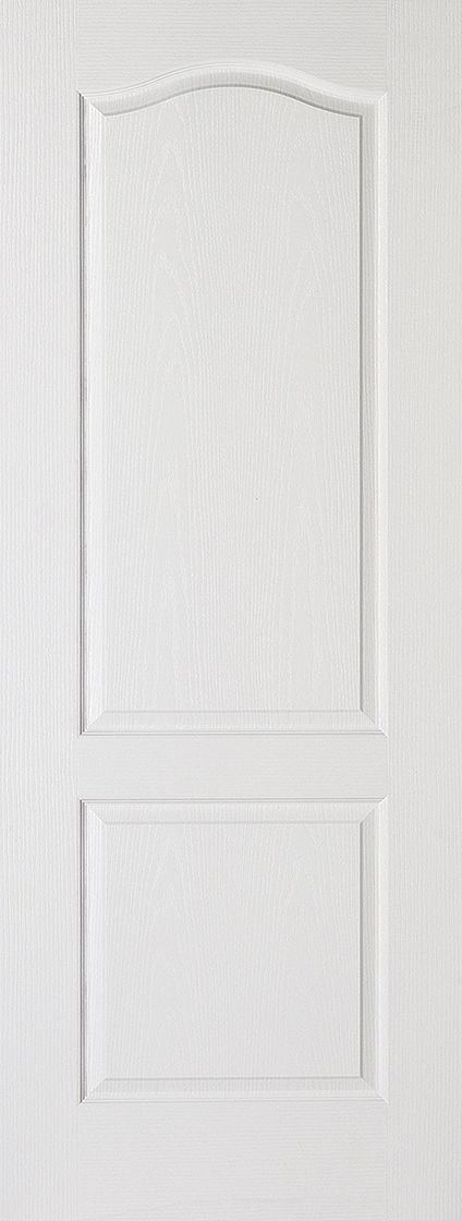 White moulded primed classic 2p internal door