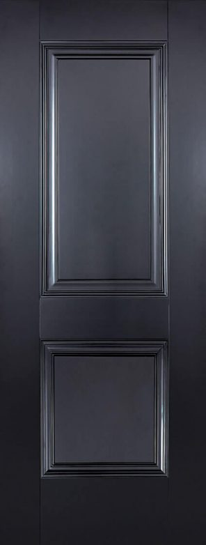 Black primed arnhem 2p internal door