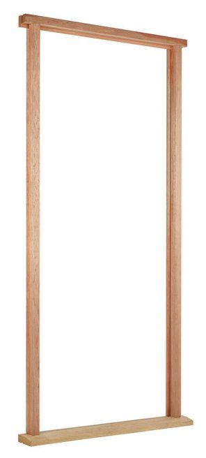 Hardwood external door frame (inc cill & weather seal)