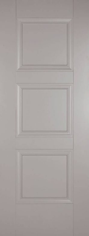 Grey primed amsterdam 3p internal door