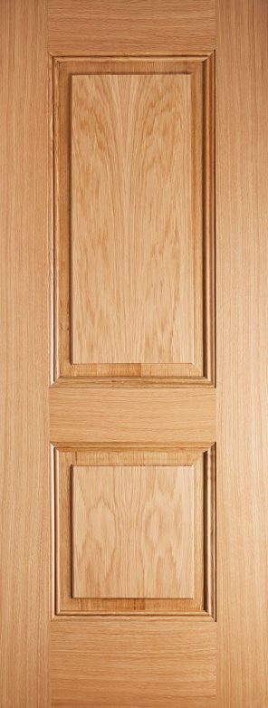 Pre finished oak arnhem 2p internal door