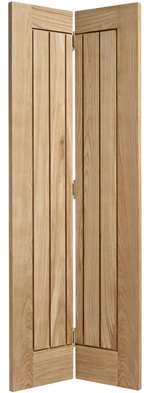 Oak mexicano bi fold internal door