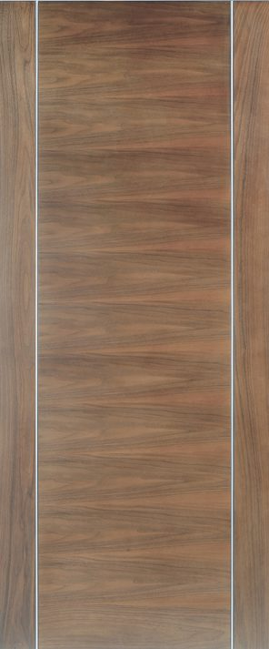 Pre-finished walnut alcaraz internal door