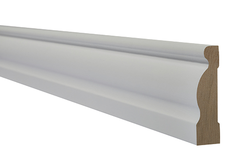 White primed ogee architrave 18 x 70mm