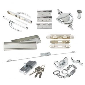Standard front door external hardware pack