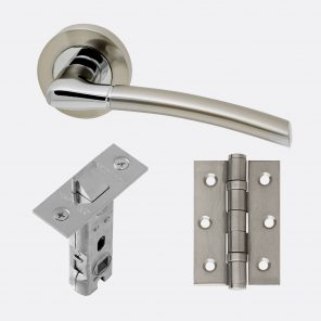 Mercury polished chrome & satin nickel internal hardware pack