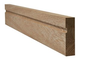 Oak faced single groove architrave 18x70mm ( both sides of 1 door)