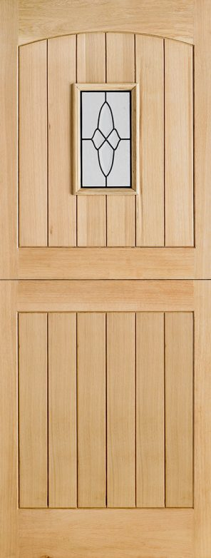 Oak cottage I.G lead double glazed external stable door