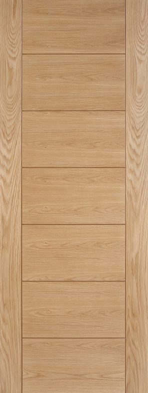 Prefinished oak hampshire internal door