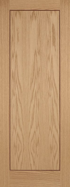 Prefinished oak inlay 1 panel internal door