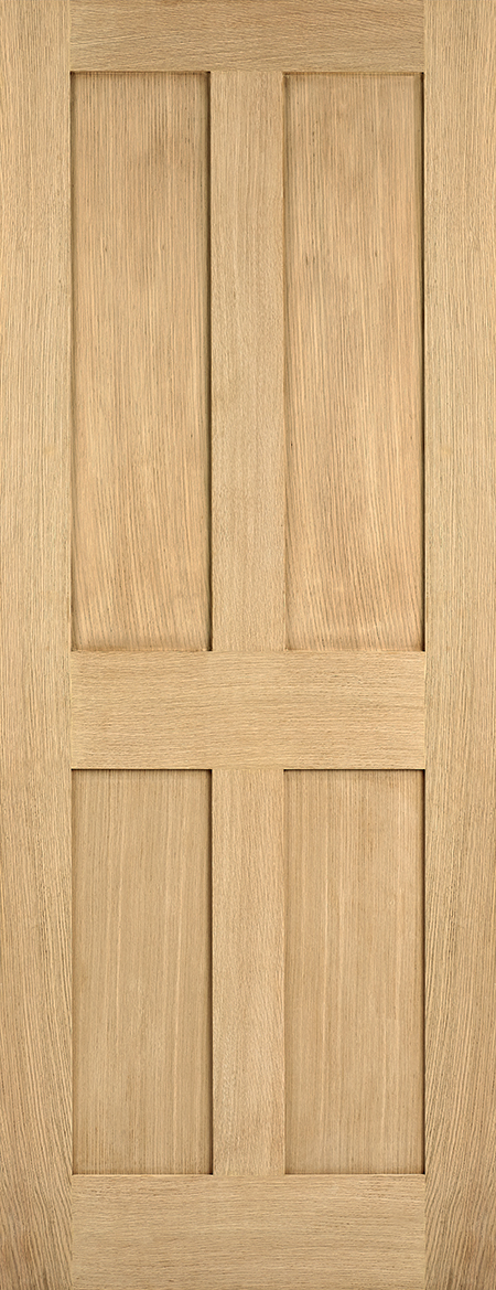 Oak london 4 panel internal door