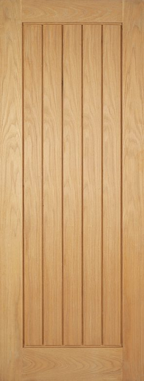 Prefinished oak mexicano internal door