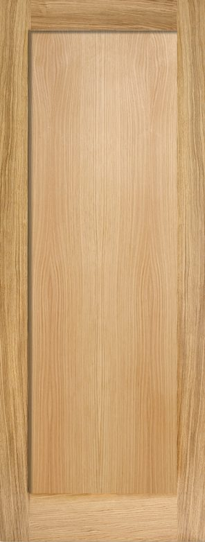 Oak pattern 10 1 panel internal door