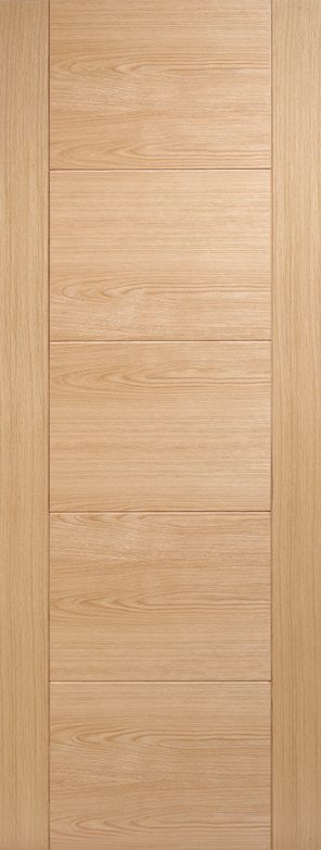 Prefinished oak vancouver 5p internal door