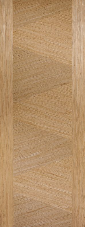Prefinished oak zeus internal door